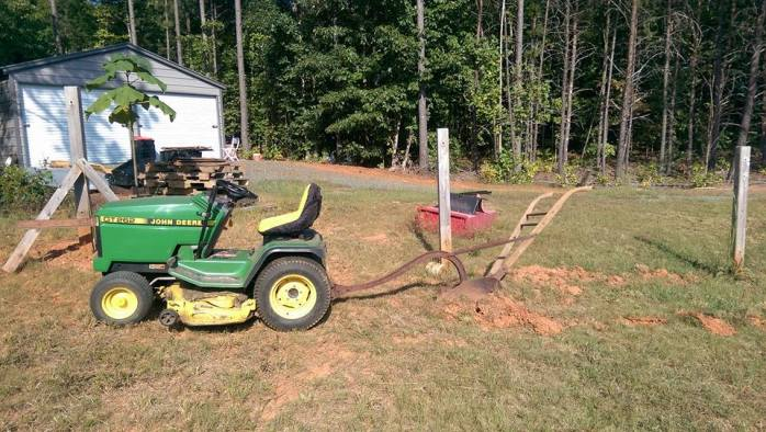 one mower plow